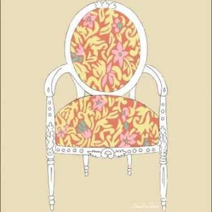 Decorative Chair I Digital Print by Zarris, Chariklia,Decorative