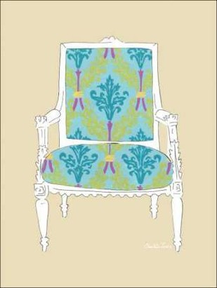 Decorative Chair III Digital Print by Zarris, Chariklia,Decorative