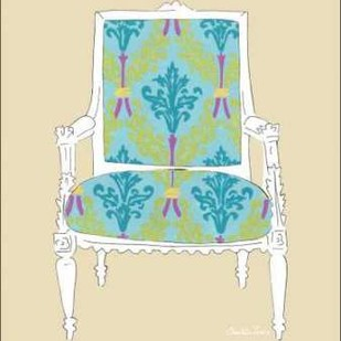 Decorative Chair III Digital Print by Zarris, Chariklia,Decorative