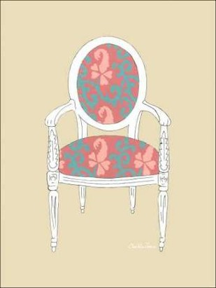 Decorative Chair IV Digital Print by Zarris, Chariklia,Decorative