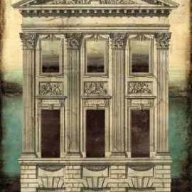 Architectural Illusion I Digital Print by Vision Studio,Decorative