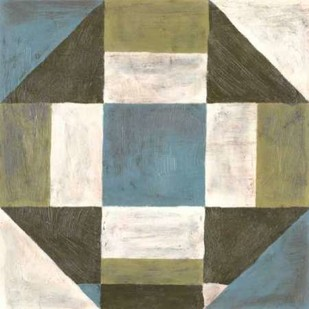 Patchwork Tile II Print By Lam, Vanna