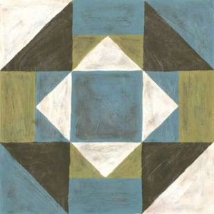 Patchwork Tile III Print By Lam, Vanna