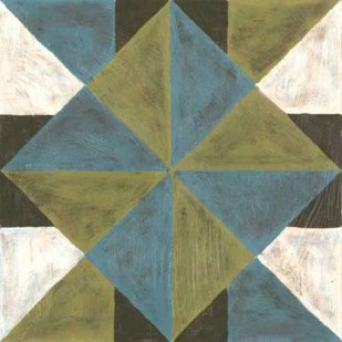 Patchwork Tile IV Digital Print by Lam, Vanna,Geometrical