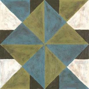 Patchwork Tile IV Digital Print by Lam, Vanna,Geometrical
