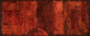 Scarlet Serendipity II Digital Print by Slocum, Nancy,Abstract
