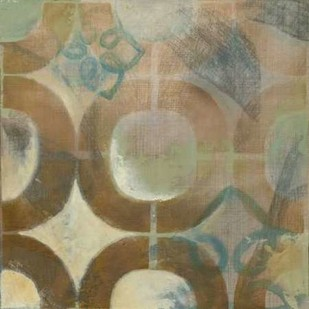 Garden Link V Digital Print by Meagher, Megan,Abstract