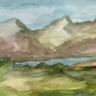Plein Air Landscape II Digital Print by Harper, Ethan,Impressionism