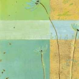 Blue Seedlings II Digital Print by Vess, June Erica,Decorative