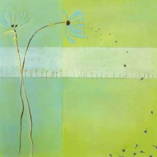 Blue Seedlings III Digital Print by Vess, June Erica,Decorative