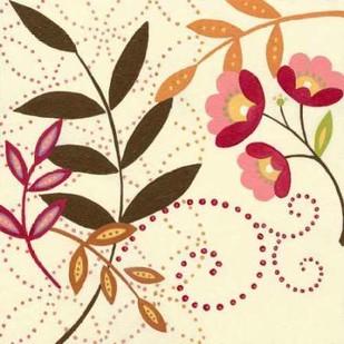 Berry Blossom I Digital Print by Vision Studio,Decorative