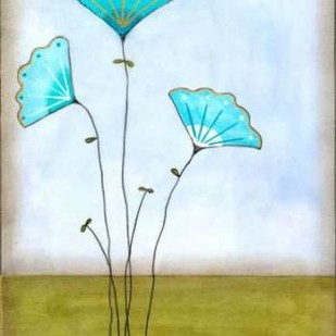 Minnas Garden I Digital Print by Vess, June Erica,Impressionism