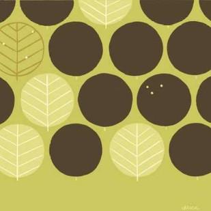 Forest Motif III Digital Print by Vess, June Erica,Decorative, Decorative