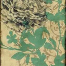 Tandem Blooms II Digital Print by Goldberger, Jennifer,Decorative