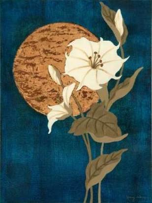 Moonlit Blossoms I Digital Print by Slocum, Nancy,Decorative