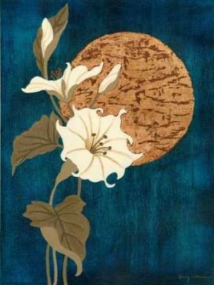 Moonlit Blossoms II Digital Print by Slocum, Nancy,Decorative