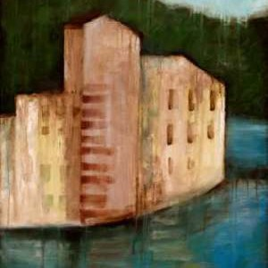 Coastal Villa I Digital Print by Goldberger, Jennifer,Impressionism