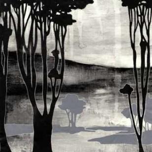 Nouveau Landscape II Digital Print by Goldberger, Jennifer,Impressionism