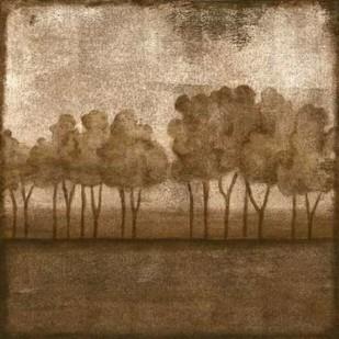 Trees at Dusk I Digital Print by Slocum, Nancy,Impressionism