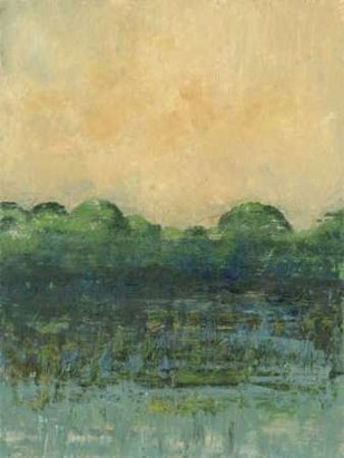 Viridian Marsh I Digital Print by Holland, Julie,Impressionism