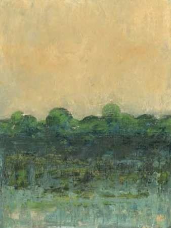 Viridian Marsh II Digital Print by Holland, Julie,Impressionism