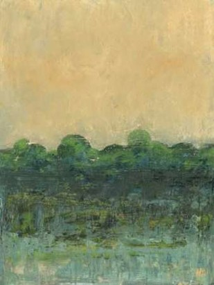 Viridian Marsh II Digital Print by Holland, Julie,Impressionism