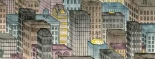 City by Night II Digital Print by Swinford, Charles,Decorative
