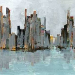 Second City I Digital Print by Fagalde, Jarman,Impressionism