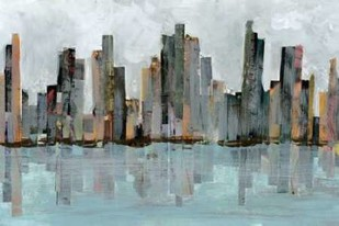Second City II Digital Print by Fagalde, Jarman,Impressionism