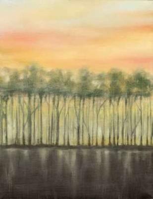 Dusk in Summer Digital Print by Goldberger, Jennifer,Impressionism