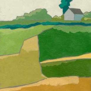 Rural Vista I Digital Print by Zarris, Chariklia,Impressionism
