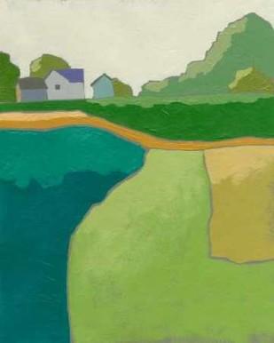 Rural Vista II Digital Print by Zarris, Chariklia,Impressionism