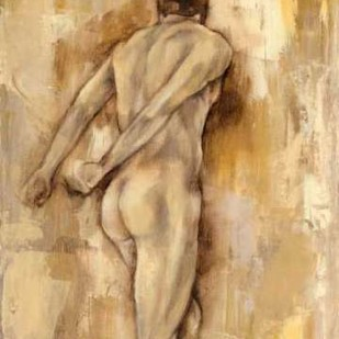 Nude Figure Study IV Digital Print by Goldberger, Jennifer,Impressionism