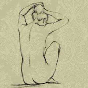 Sophisticated Nude I Digital Print by Harper, Ethan,Illustration
