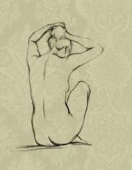 Sophisticated Nude I Digital Print by Harper, Ethan,Illustration