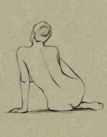 Sophisticated Nude II Digital Print by Harper, Ethan,Illustration