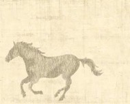 Vintage Horse II Digital Print by Vision Studio,Impressionism