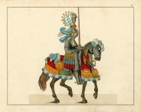 Knights in Armour I Digital Print by Kottenkamp,Decorative