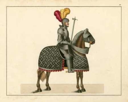 Knights in Armour III Digital Print by Kottenkamp,Decorative