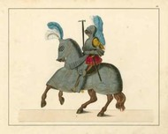 Knights in Armour IV Digital Print by Kottenkamp,Decorative