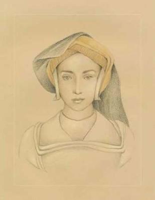 16th Century Portrait II Digital Print by Harper, Ethan,Illustration