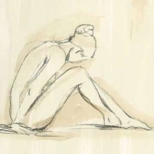 Neutral Figure Study I Digital Print by Harper, Ethan,Illustration