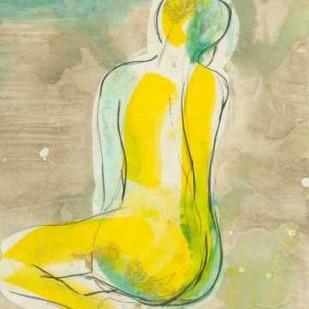Figure in Relief II Digital Print by Goldberger, Jennifer,Illustration