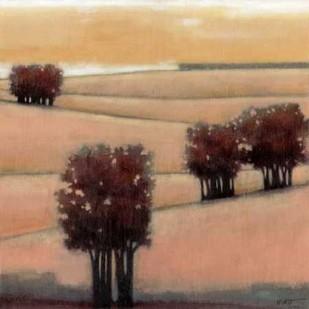 Blushing Hills II Digital Print by Wyatt Jr., Norman,Impressionism