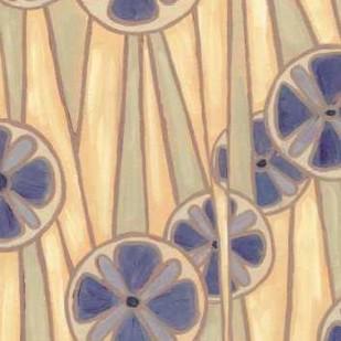 Lavender Reeds II Digital Print by Deans, Karen,Abstract