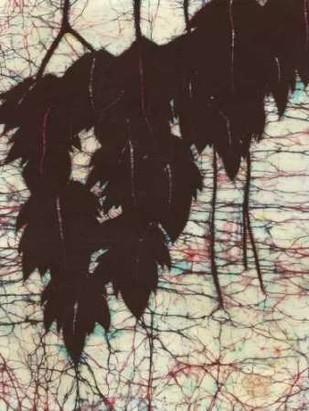 Batik Hanging Leaves I Digital Print by Davis, Andrea,Impressionism
