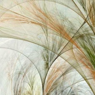 Fractal Grass III Digital Print by Burghardt, James,Impressionism