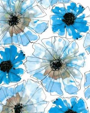 Water Blossoms I Digital Print by Velasquez, Deborah,Decorative