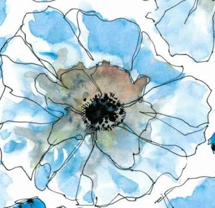 Water Blossoms II Digital Print by Velasquez, Deborah,Decorative