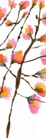 Inky Blossoms II Digital Print by Velasquez, Deborah,Decorative